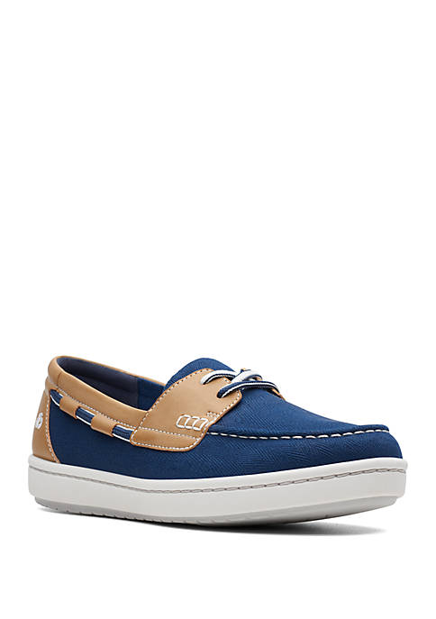 Clarks Step Glow Lite Boat Shoes