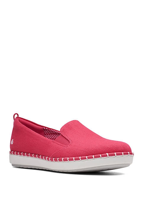 Clarks Step Glow Slip On Sneakers
