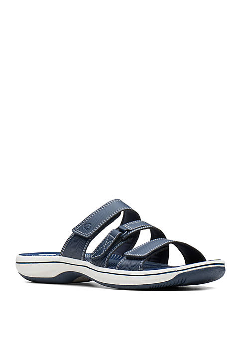 Clarks Brinkley Coast Black Sandals