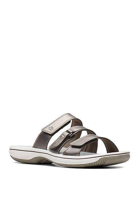 Clarks Brinkley Coast Black Sandals