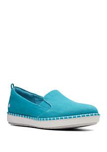 Clarks Step Glow Slip On Sneakers