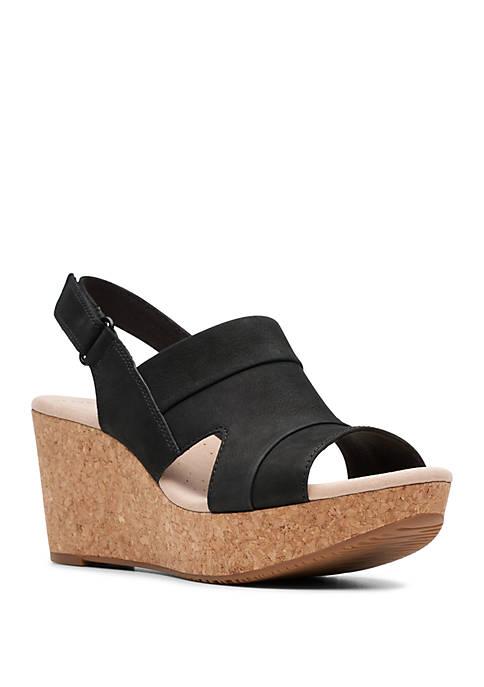 Clarks Annadel Ivory Sandals