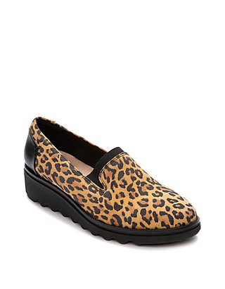 beautiful in colour complimentary shipping sells Sharon Dolly Leopard Faux Suede Shoes