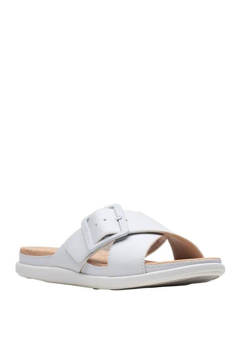Clarks Step JuneShell Sandals