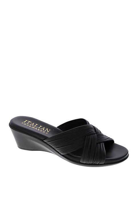 Italian Shoemakers Saylor Wedge Sandals
