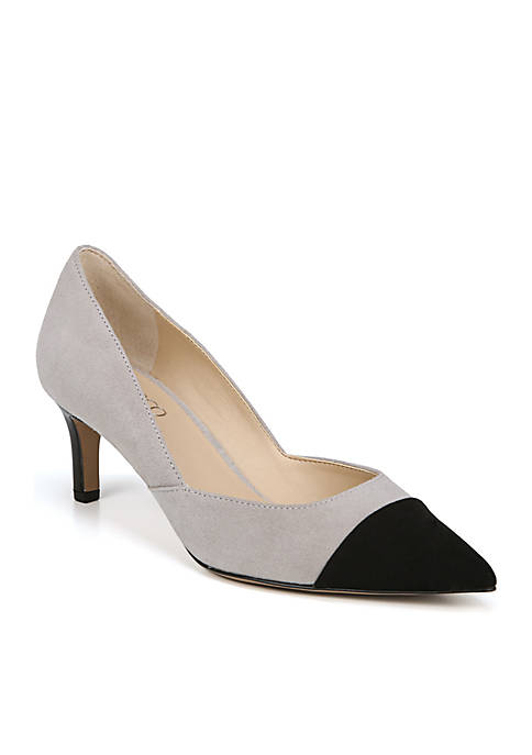 Franco Sarto Delight Toe Cap Kitten Heel Pump