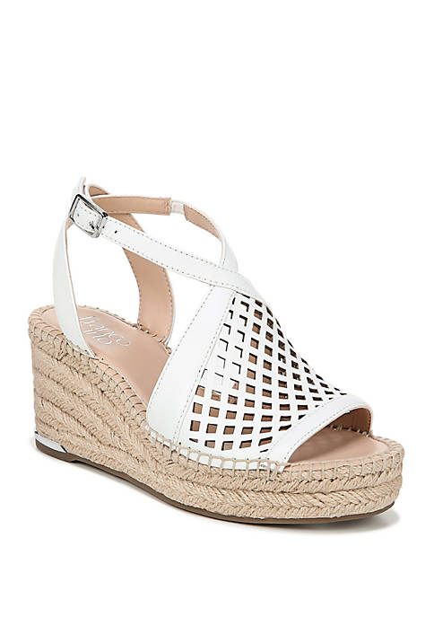 Franco Sarto Celestial Perforated Wedges