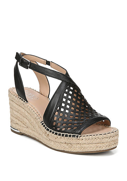 Celestial Perforated Wedges