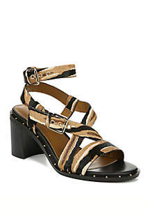 Franco Sarto Halina Block Heel Sandals