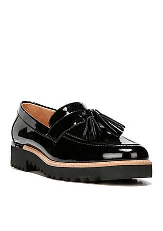 Franco Sarto Carolynn Tassel Lug Sole Loafer 4Vqut