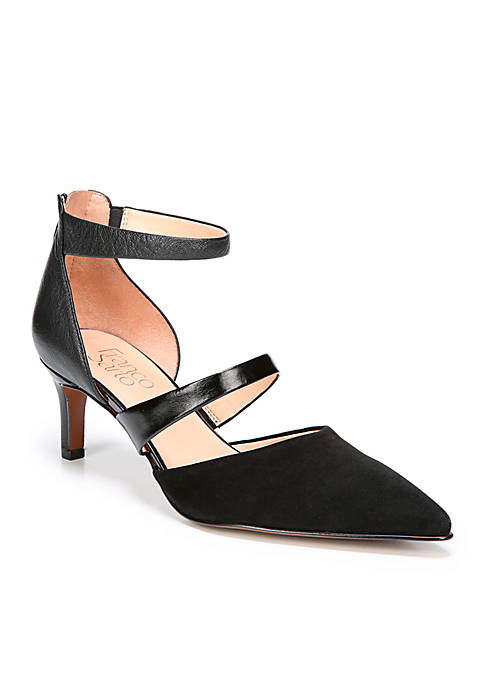 Franco Sarto Davey Three Strap Pumps