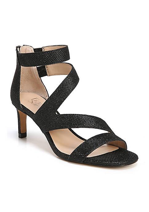 Celia Strappy Mid Heel Sandal