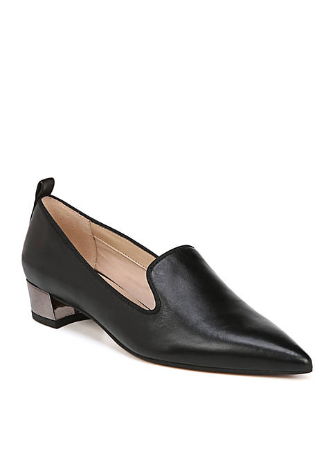 Franco Sarto Vianna Heeled Smoking Loafers