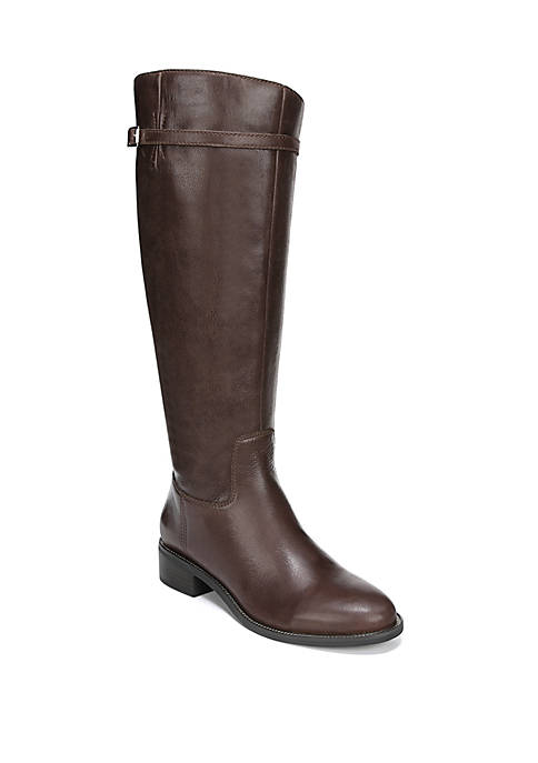 Belaire Buckle Riding Boot - Wide Calf