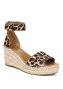 Clemens Ankle Strap Wedge Sandal