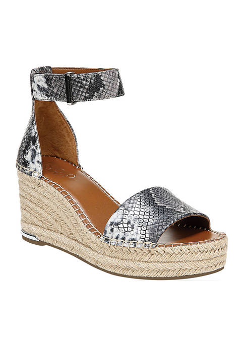 Franco Sarto Clemens Espadrille Wedge Sandals