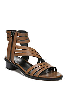 Franco Sarto Elma Strappy Block Heel Sandals