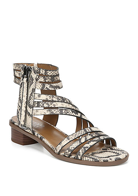 Franco Sarto Elma Strappy Block Heel Sandals