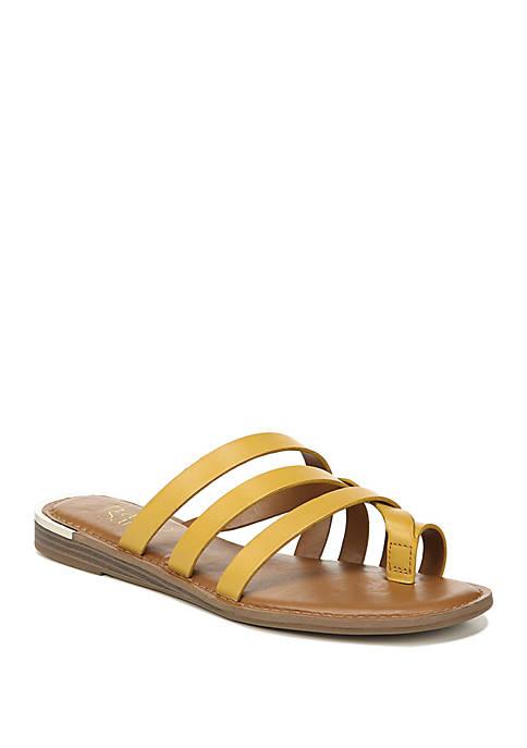 Goddess Woven Toe Ring Sandals