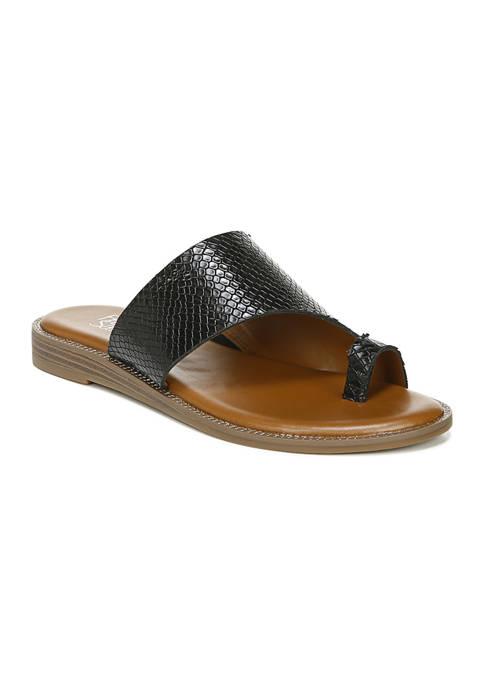 Franco Sarto Gem Black Sandals