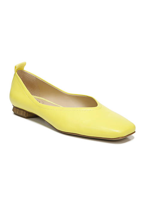 Franco Sarto L-Ailee Yellow Flats