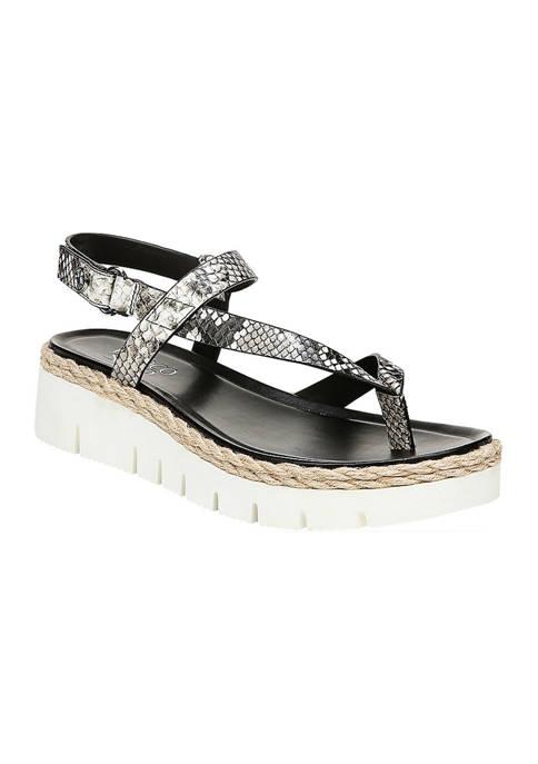 Franco Sarto Jinxy Flatform Sport Sandals