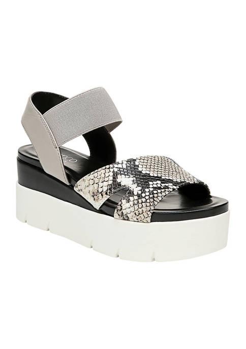 Franco Sarto Virginia Flatform Sport Sandals