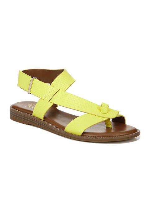 Franco Sarto L-Glenni Limeade Strappy Sandals