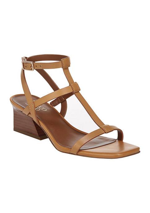 Franco Sarto Chopra Block Heeled Sandals