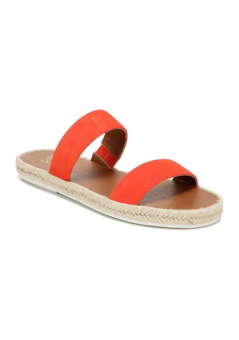 Franco Sarto Posie Tangelo Sandals