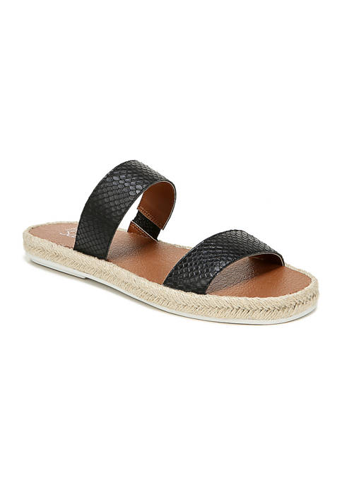 Franco Sarto Posie2 Black Sandals