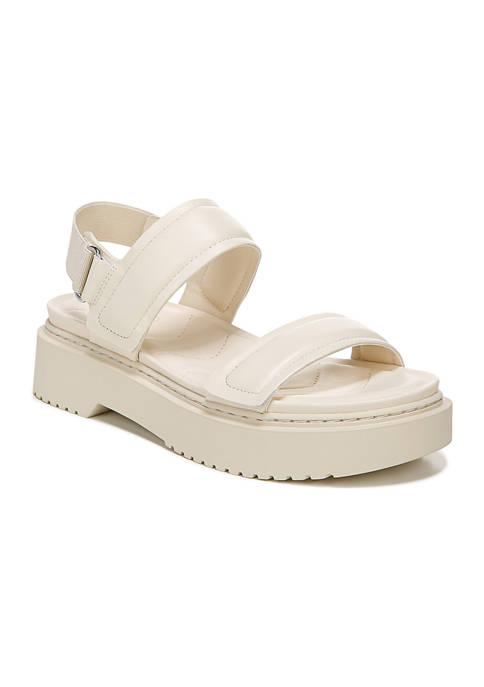 Franco Sarto Winda Milk Lugged Sandals