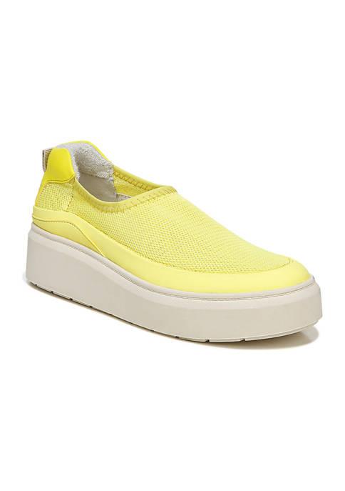 Franco Sarto L-Lin Yellow Sneakers