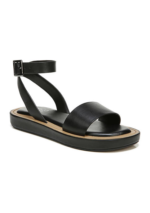 Franco Sarto L-Eden White Sandals
