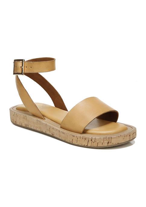 Franco Sarto L-Eden Camel Sandals