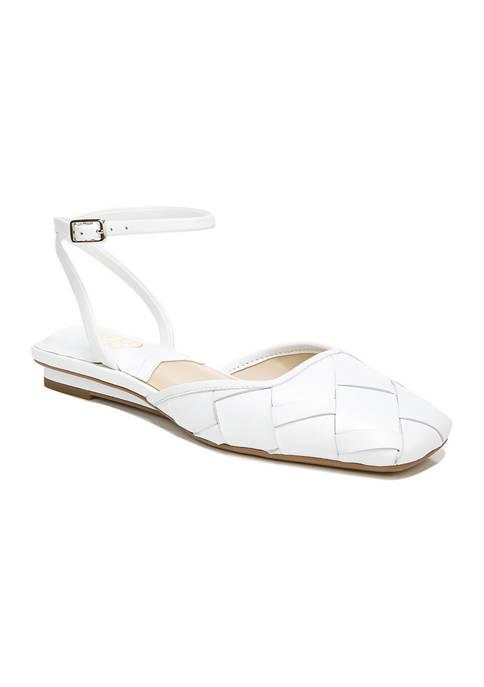 Franco Sarto L-Jolee2 White Flats