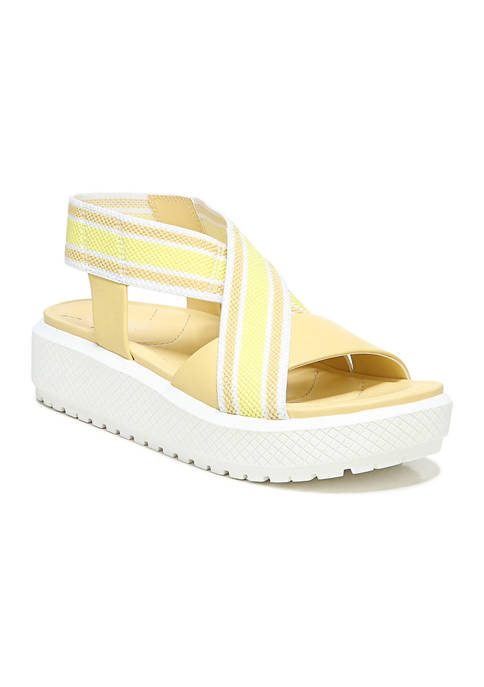 Franco Sarto L-Niko Light Yellow Sandals