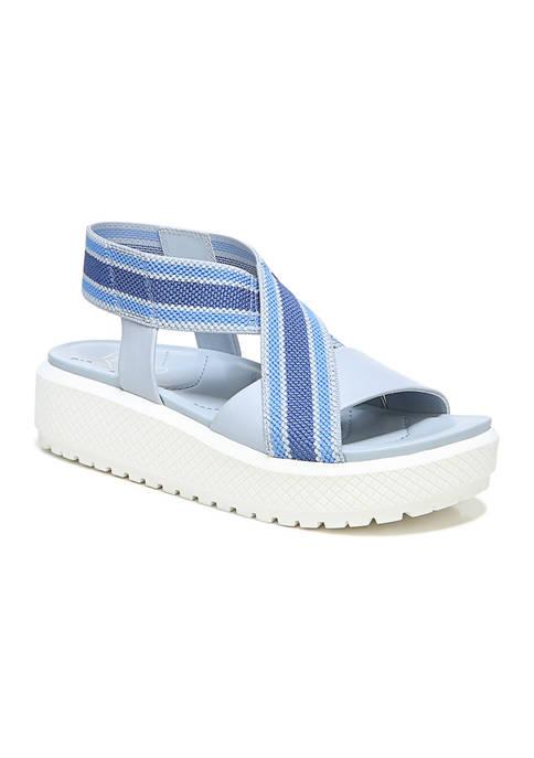 Franco Sarto L-Niko Light Blue Sandals