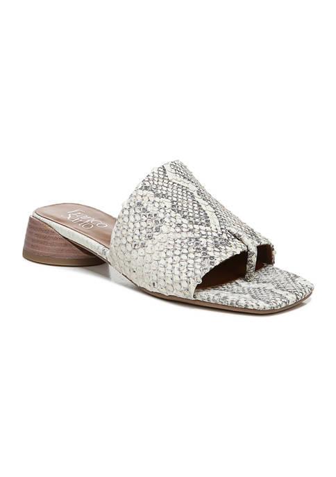 Franco Sarto L-Loran Natural Sandals