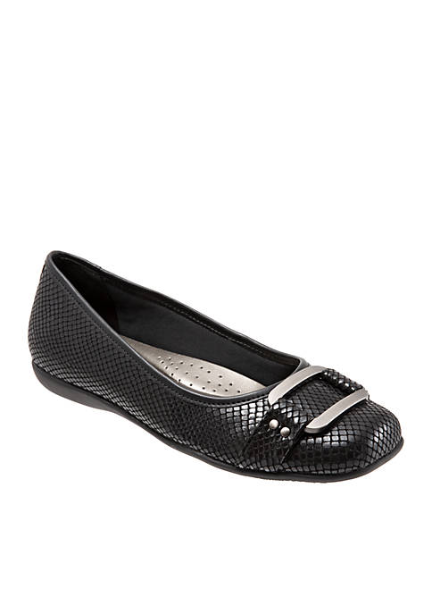 Sizzle Buckle Flat