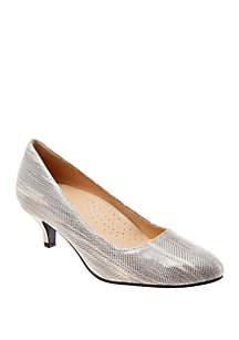 Trotters Kiera Kitten Heel Shoes