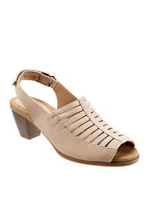 Trotters Minnie Peep Toe Sandals
