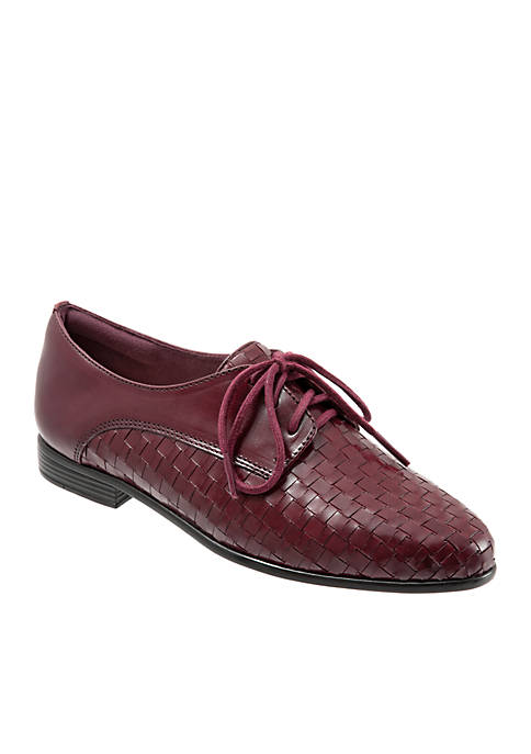 Trotters Lizzie Woven Oxford