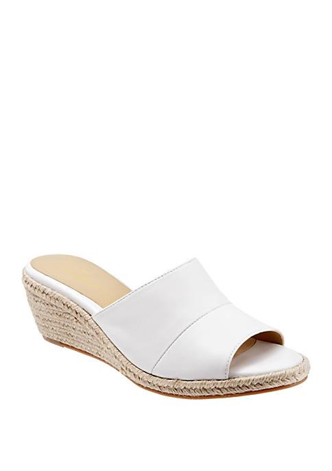 Colony Espadrille Slide Wedge Sandals