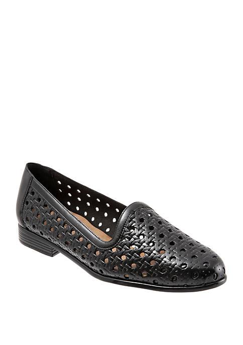 Liz Open Weave Loafers