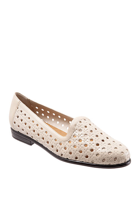 Liz Open Weave Loafers