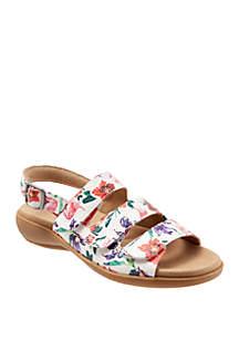 Trotters Vine Slingback Sandals