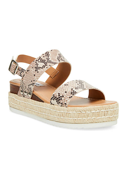 Catia Leather Wedges