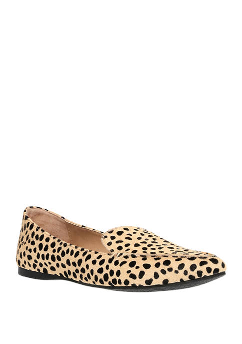 Feather Leopard Flats