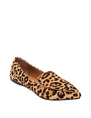 6e5683ffa74e Steve Madden. Steve Madden Feather Leopard Flats